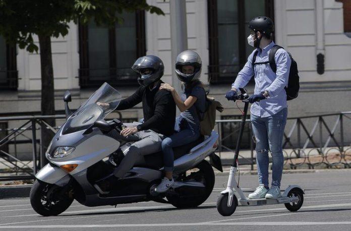 Madrid ayudas patinetes eléctricos