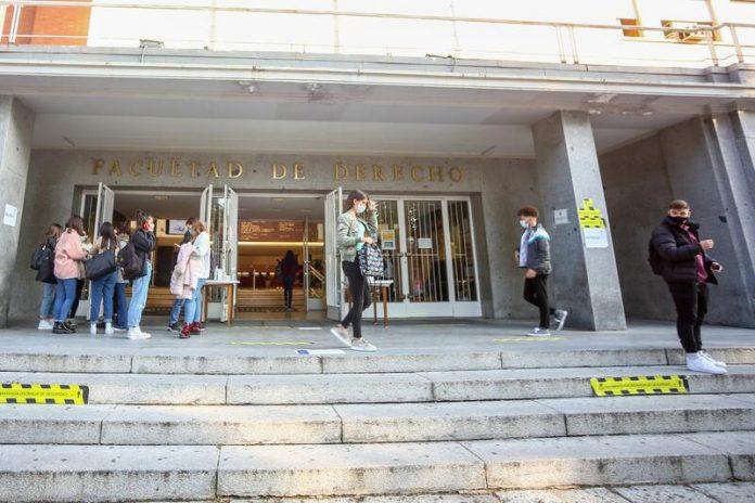 Universidades madrileñas COVID-19