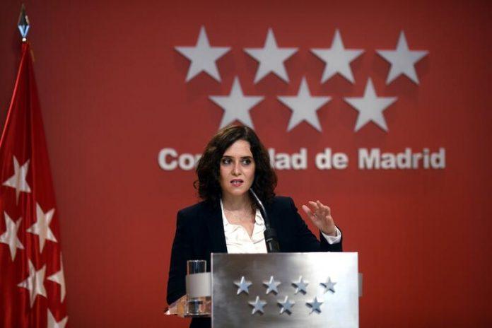 Ayuso cerrar Madrid
