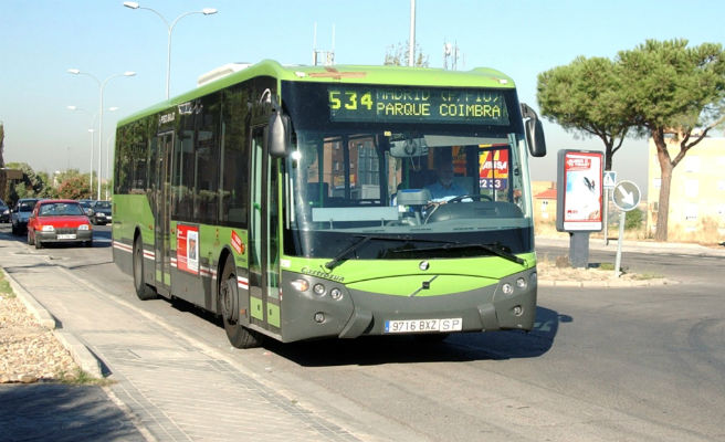 Autobús en Móstoles