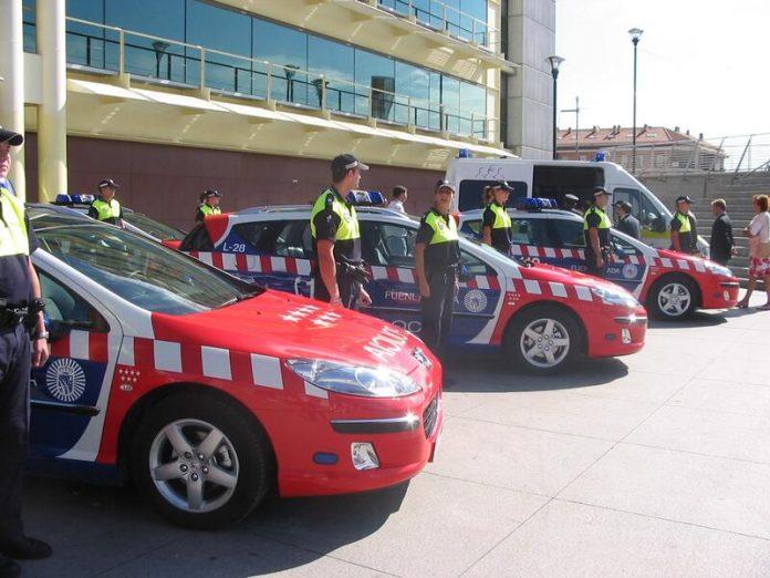 Ayuntamiento de Fuenlabrada plazas Policía Local vehículos