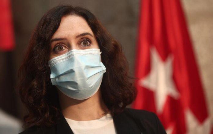 Isabel Díaz Ayuso cuarentena preventiva