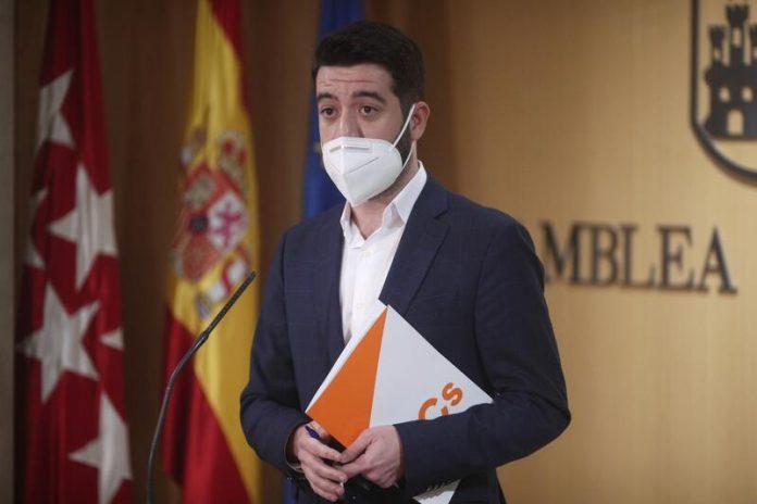 Ciudadanos lista de sanitarios Comunidad de Madrid