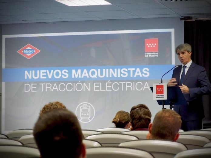 Metro de Madrid nuevos maquinistas