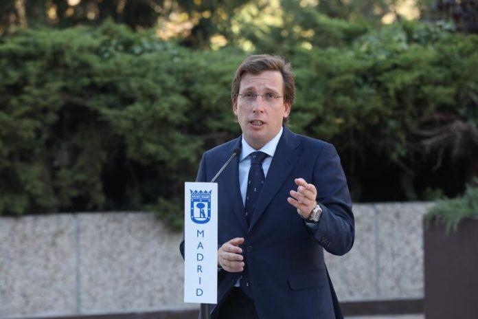 Almeida cierre Madrid