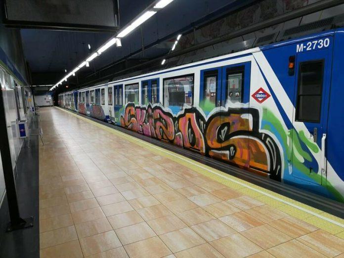 Grafitero apuñaló vigilante Metro de Madrid