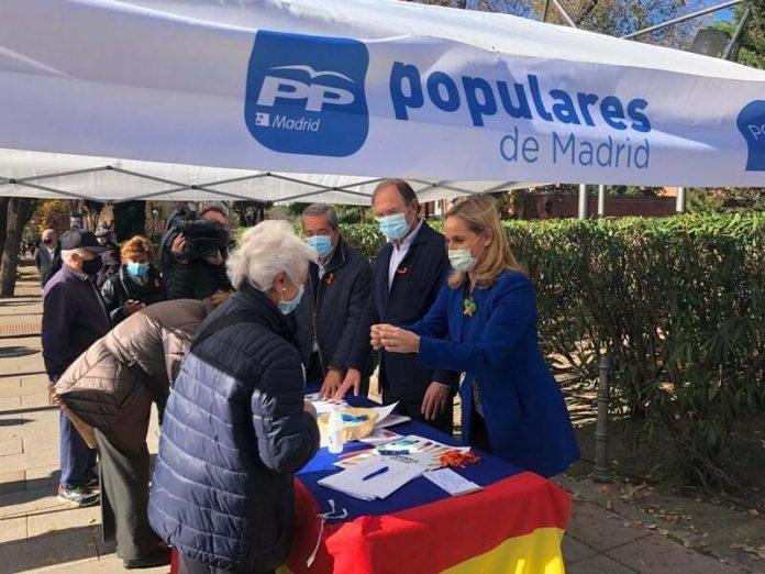 PP Madrid firmas Ley Celaá