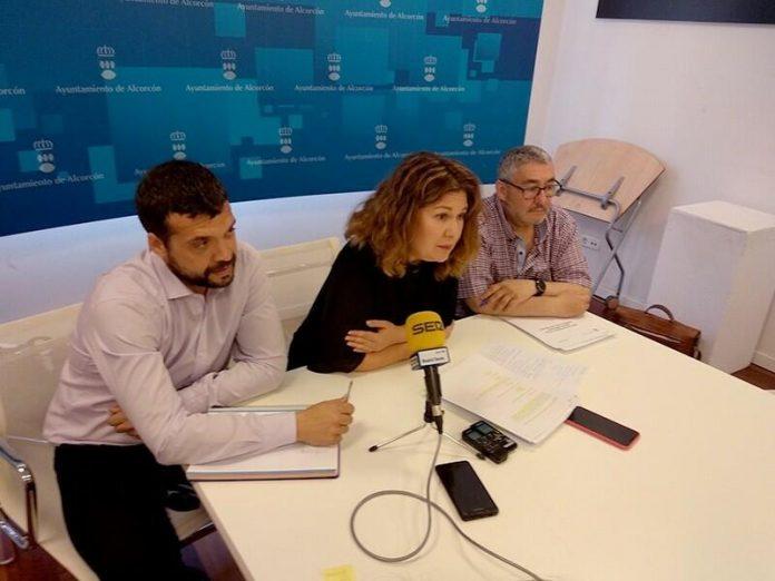 Plan accesibilidad Alcorcón paradas autobuses