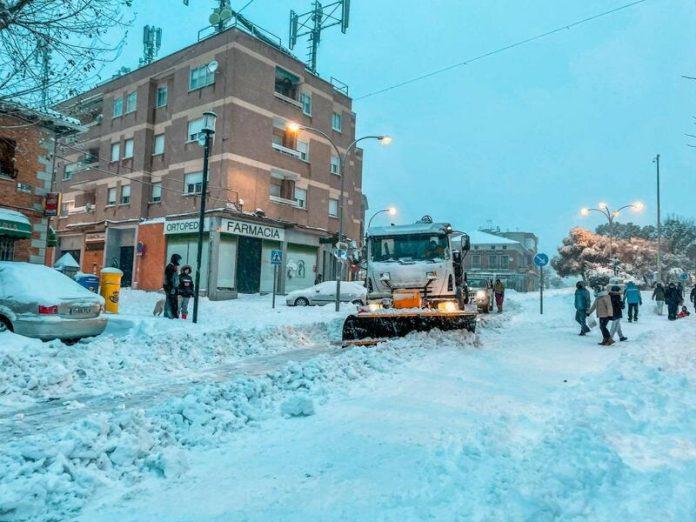 Colmenar nevada