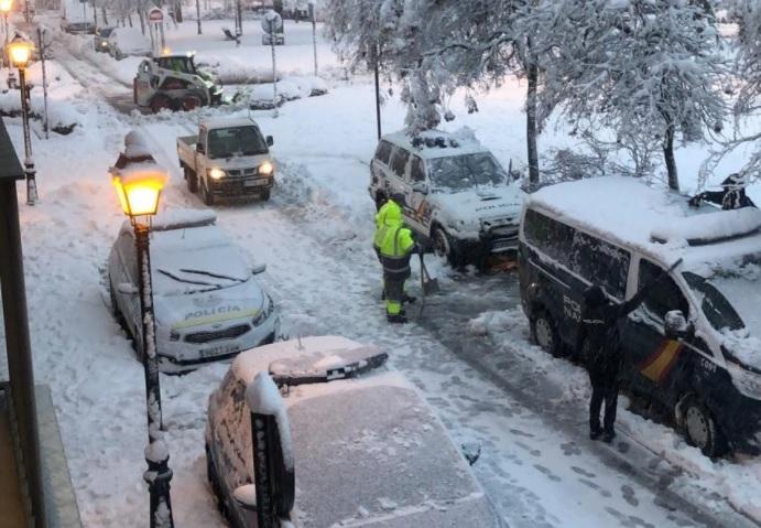 Aranjuez nevada