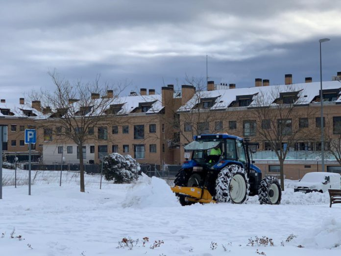 Colmenar nieve