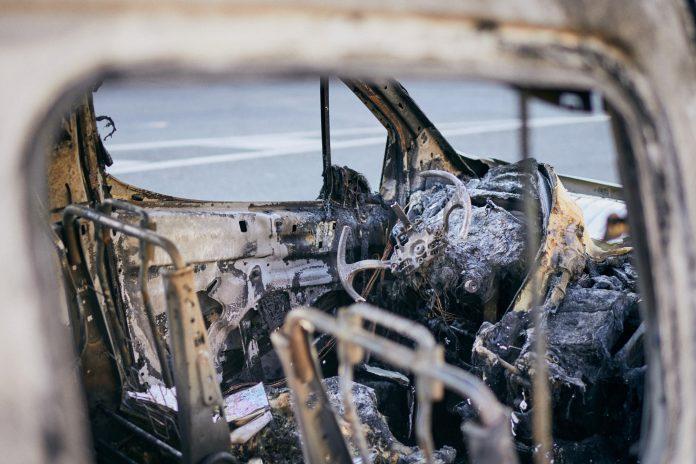 coches quemados pozuelo