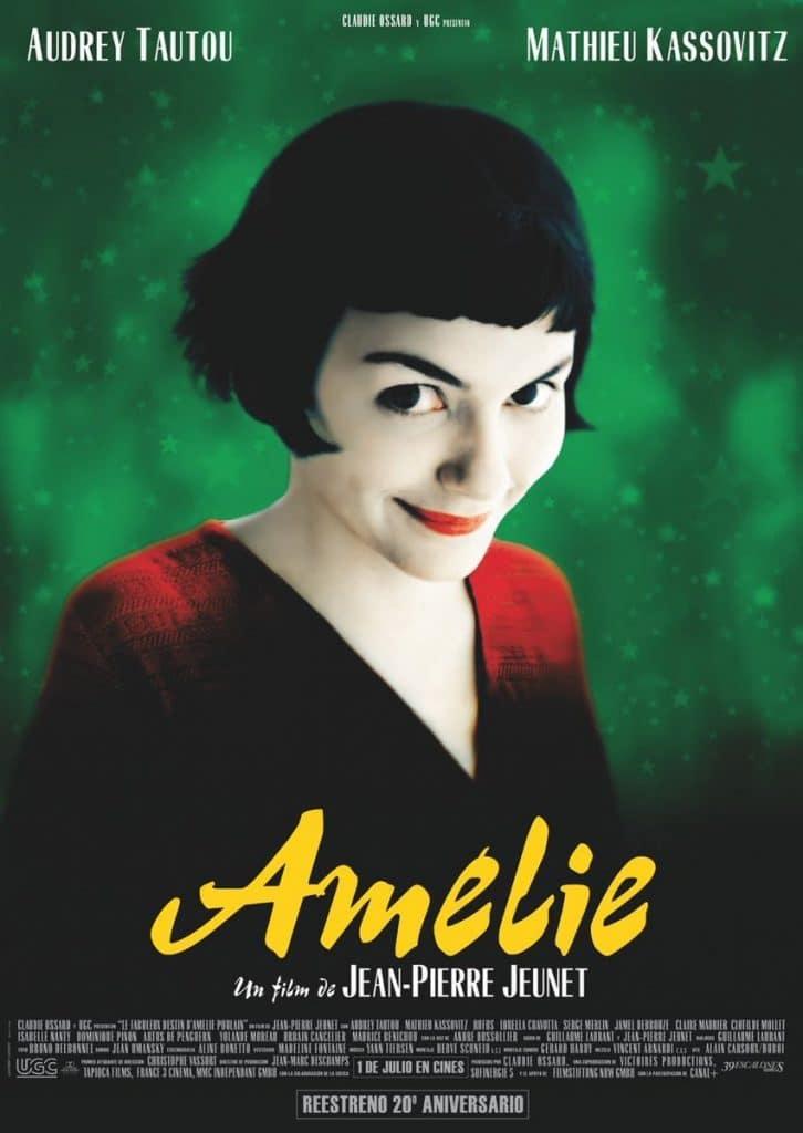 La mágica Amélie vuelve a los cines españoles por su 20 aniversario