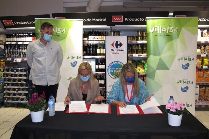 Firma convenio Ayuntamiento - Carrefour 1